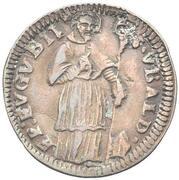 1 Quattrino - Clement XII (St. Ubaldo - standing, bare head) – revers