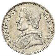 20 baiocchi - Pius IX – avers