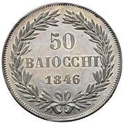 50 Baiocchi - Gregorio XVI – revers