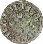 1 Quattrino - Pius II (with keys) – avers