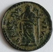 1 quattrino Alexander VII – revers