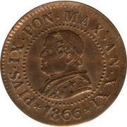1 centesimo - Pius IX – avers