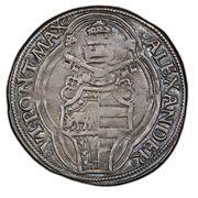 1 Grosso - Alexander VI – revers