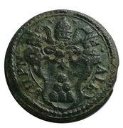 1 quattrino Alexander VII – avers