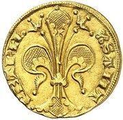 Florin d'Or - Jean XXII – revers