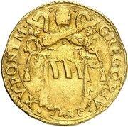 1 Quadrupla - Gregor XV – avers