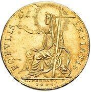 2 Zecchini - Leo XII – revers