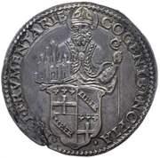 1 Lira - Clement VII – avers