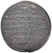 1 Lira - Clement VII – revers
