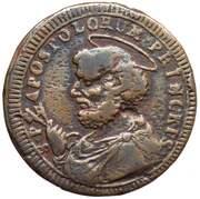 2 ½ Baiocchi - Pius VI – revers