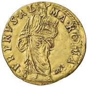 1 Scudo - Gregory XIII – revers