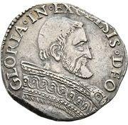 1 Testone - Pio IV – revers