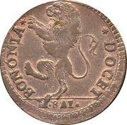 1 baiocco - Pius VI (Sestus) – avers