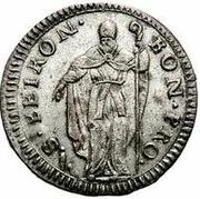 muraiola of 2 baiocchi - Pius VI – revers