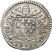 1 carlino - Pius VI – avers