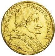 4 scudo d'Oro - Innocent XI – avers