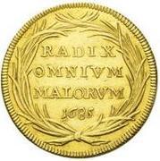 4 scudo d'Oro - Innocent XI – revers