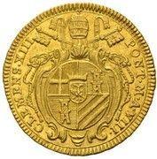 2 zecchini Clement XIII – avers