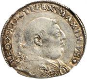 1 giulio - Leo X – avers