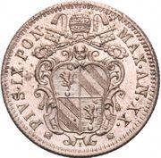 10 baiocchi - Pius IX – avers