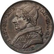 20 baiocchi - Gregory XVI – avers