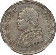 50 baiocchi - Pius IX – avers