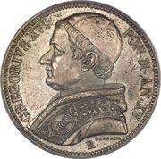 Scudo - Grégoire XVI (type 2) – avers