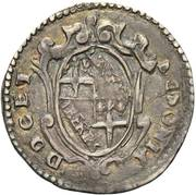 1 giulio - Paolo V – revers