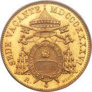 5 scudi - Pius IX (Siege vacant) – avers