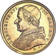 10 scudi - Grégoire XVI – avers