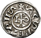1 Denaro - Leone III – avers