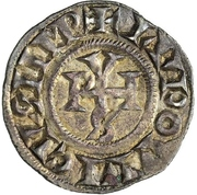 1 Denaro - Gregorio IV – avers