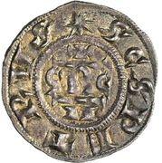 1 Denaro - Gregorio IV – revers