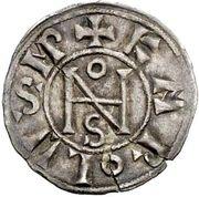 1 Denaro - Giovanni VIII – avers