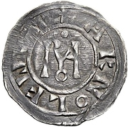 1 Denaro - Stefano VII/VI – revers