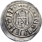 1 Denaro - Giovanni IX – avers