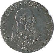1 bologne (Pio V) – avers