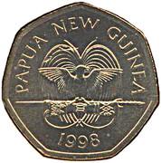 50 toea (Banque de Papouasie-Nouvelle-Guinée) – avers
