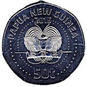 50 Toea (XVèmes Jeux du Pacifique) – avers