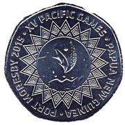 50 Toea (XVèmes Jeux du Pacifique) – revers