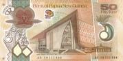 50 Kina (2010 commemorative Issue) -  avers