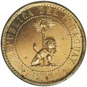 2 Centimos (Brass Pattern) – avers