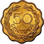 50 centimos -  avers