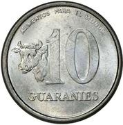 10 guaranies FAO (acier) -  revers