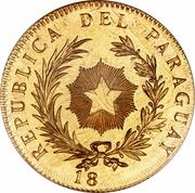 1 peso (Essai) – avers