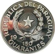 150 Guaraníes (Abraham Lincoln) -  avers