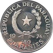 150 Guaraníes (Alessandro Manzoni) -  avers