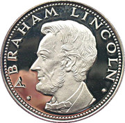 150 Guaraníes (Abraham Lincoln) -  revers