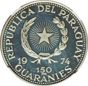 150 Guaraníes (John F. Kennedy) -  avers