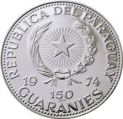 150 guaranies (Konrad Adenauer) -  avers